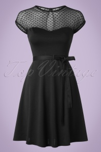 Steady Clothing Hearts Only Black Dress 106 10 18006 20160208 0001SWA