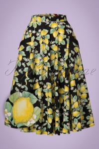 Bunny Leandra 50s Lemon Swing Skirt 122 14 21057 20170120 0014aW