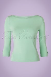 Dancing Days by Banned Sophie Top in Mint Green 113 40 17789 20160308 0005W