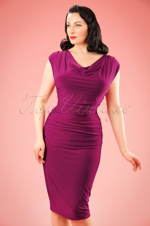 Zoe Vine Billie Purple Pencil Dress 100 22 20150 20170203 0026 w
