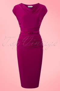 Zoe Vine Billie Purple Pencil Dress 100 22 20150 20170203 0025w