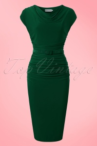 Zoe Vine Billie Green Pencil Dress 100 40 20151 20170203 0025w