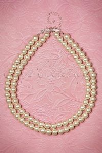 Darling Divine Two Rows Pearl Necklace 300 51 20814 02212017 008W