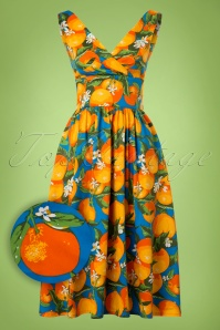 Dancing Days by Banned Laneway Orange Dress 102 39 20896 20170201 0003W