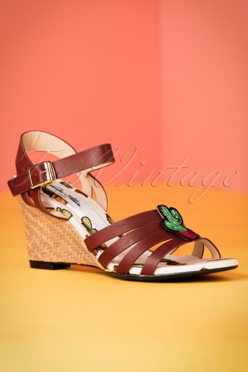 Lulu Hun Wanda Cactus Sandal 420 70 20866 02212017 013W