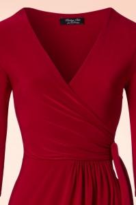 Vintage Chic Side Tie Wrap Dress 100 20 21185 20170223 0002V