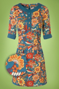 Dancing Days by Banned 70s Floral Dream Dress 106 39 19785 20161111 0003wv
