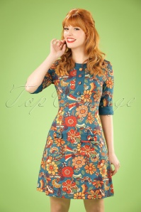 Dancing Days by Banned 70s Floral Dream Dress 106 39 19785 20161111 1W