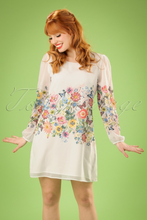 Yumi Botanical Ivory White Dress 106 59 20138 20170206 3W