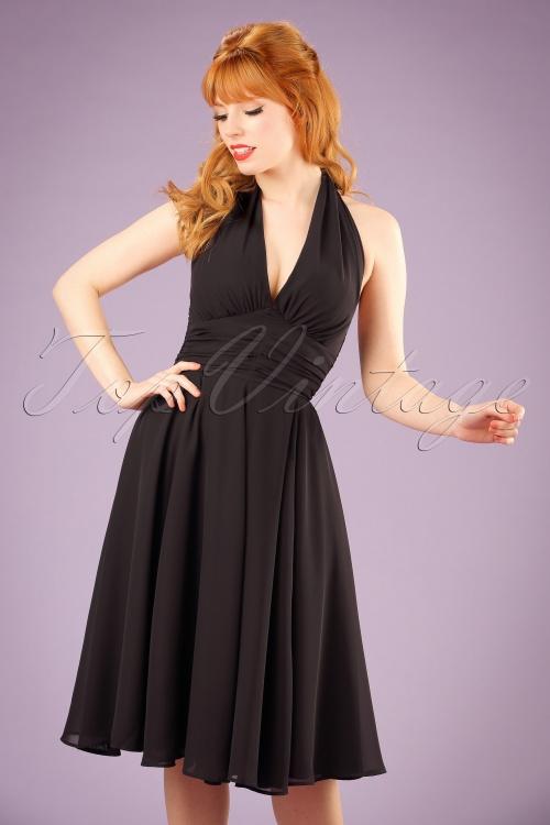 Bunny Monroe Dress in Black 102 10 16766 20151021 0005 w