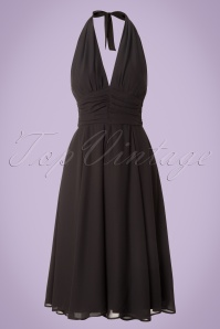 Bunny Monroe Dress in Black 102 10 16766 20151021 0001W