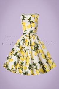 WLindy Bop Audrey Lemon Print Swing Dress 102 59 21213 20170301 0005