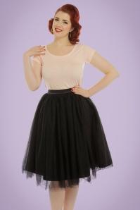Lindy Bop Edie Champangne Tule Swing Swing Skirt 122 51 21226 20170301 1