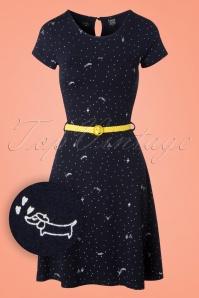 Mademoiselle Yeye Beth Dress in Paris Print 19893 20161116 0008W1