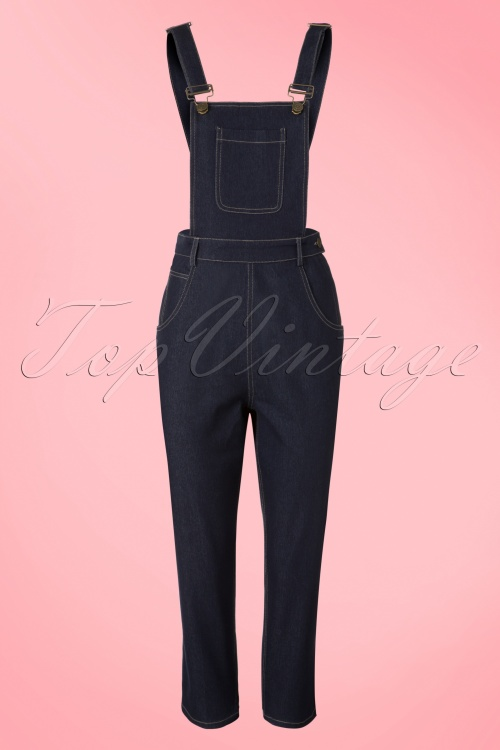 Collectif Clothing Coco Denim Dungarees 20708 20161130 0005w