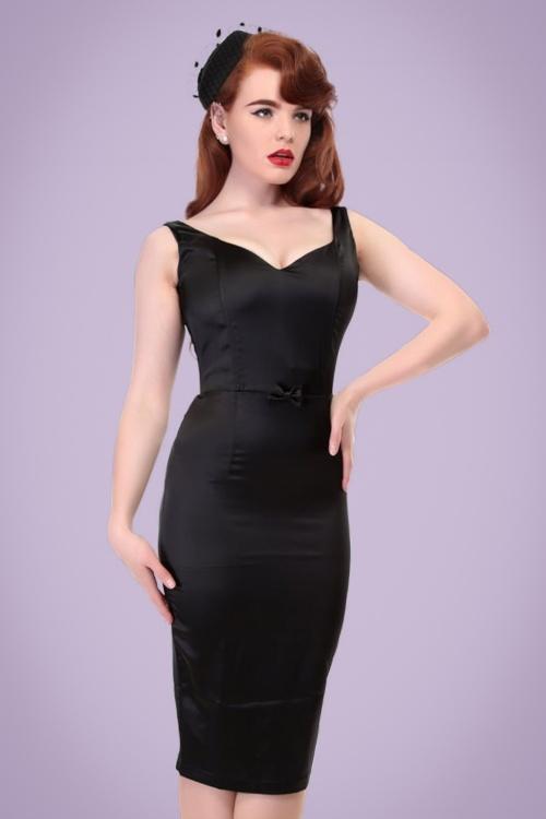 cbd761ba73a731 Collectif Clothing Primrose Plain Pencil Dress 20794 20121224 0002