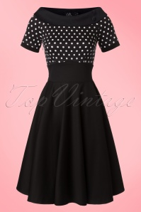 Dolly & Dotty Darlene Polkadot Swing Dress 102 14 19515 20160726 0018W