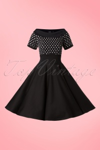 Dolly & Dotty Darlene Polkadot Swing Dress 102 14 19515 20160726 0003W