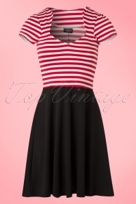 Steady Clothing Striped A Line Dress 102 27 20776 20170306 0005W