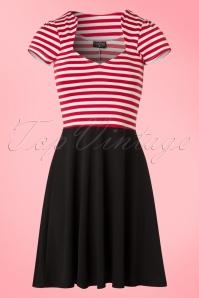 Steady Clothing Striped A Line Dress 102 27 20776 20170306 0005W