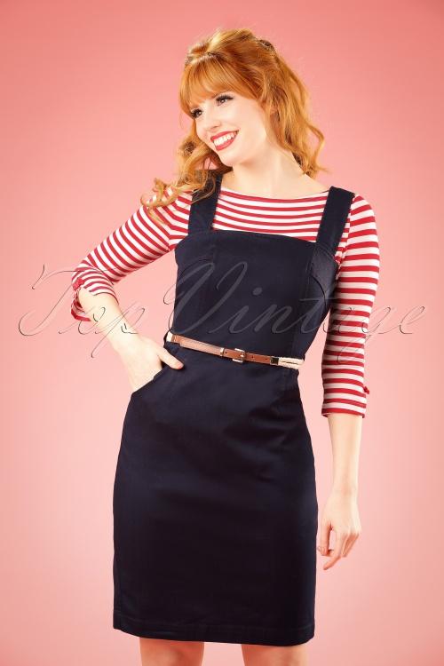 Yumi Blue Navy Dress 100 30 20143 20170206 1W