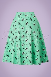 Vixen 50s Emma Skirt In Green 123 49 20461 20170306 0010W