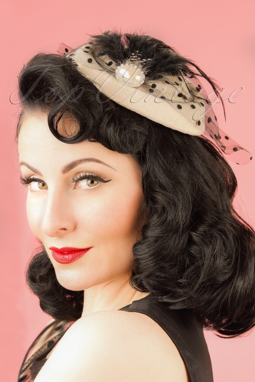 Dancing Days by Banned Nude Fascinator 201 51 21082W