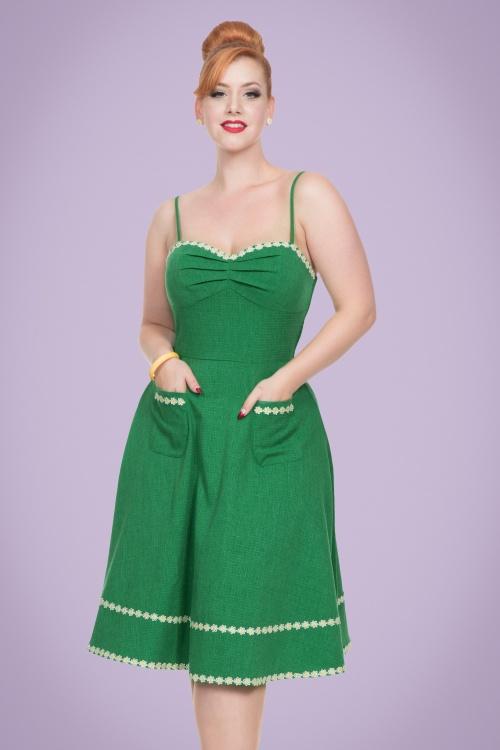 Vixen Delilah Rose Swing Dress 102 40 20441 20170307 01
