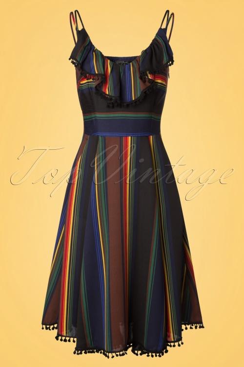 Vixen Adelyn Striped Dress 102 14 20443 20170308 0005w