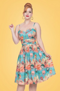 Vixen Aria Blue Balloon Dress 102 39 20445 20170308 01