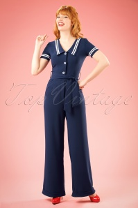 Bunny Ambleside Navy Sailor Jumpsuit 133 31 18251 20160324 0015w
