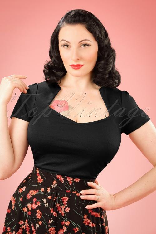 86f6967ff67838 Steady Clothing Piped Sophia Tee In Black 111 10 10636 20151123 0004 w