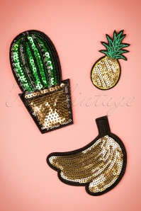 50s Exotic and Sequins Patches Set