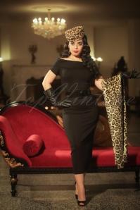 Vintage Diva Jazmin Dress in Black 20544 20170227 0003w
