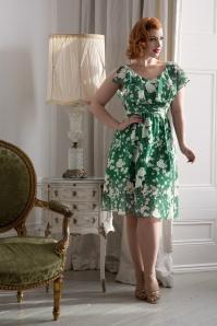 Vixen  Agatha Dress in Green 102 49 20437 20170307 01