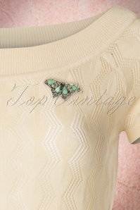 Lovely Butterfly Brooche Green 340 40 21322 03072017 008W