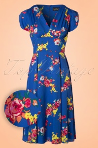 Vixen Amber Blue Floral Dress 102 39 20458 20170313 0002W1