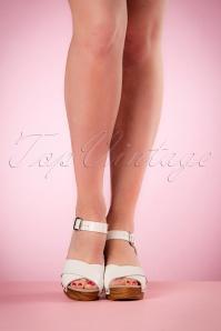 Tamaris White Leather Cogs 421 50 19855 03082017 006W
