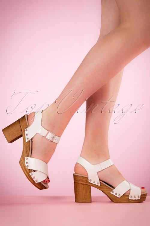 Tamaris White Leather Cogs 421 50 19855 03082017 002W