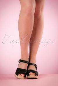 Lotta from Stockholm High heel Peep Toe Clogs Black 421 10 20978 03082017 007W