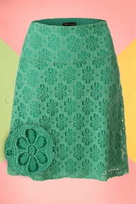 King Louie Border Skirt in Green 123 40 20226 20170213 0004W1