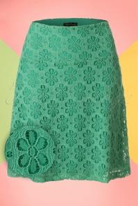 King Louie Border Skirt in Green 123 40 20226 20170213 0004W1
