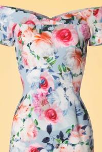 Paper Dolls Multi Rose Off Shoulder Pencil Dress 100 19 20556 20170307 0002V