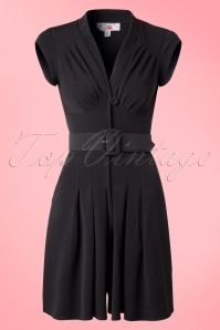 Miss Candyfloss Playsuit Jumpsuit in Black  132 10 14879 20150410 0008V2W