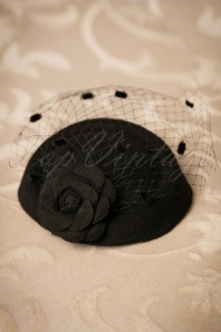 Dancing Days by Banned Mailyn Fascinator black 201 10 21121 03062017 012W