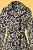 King Louie Blizzy Black and White Trenchcoat 151 14 19655 20170315 0003c
