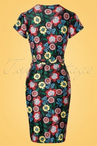 Yumi Moroccan Floral Dress 100 14 20140 20170316 0007w