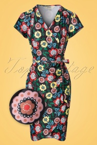 Yumi  Moroccan Flowers Dress 100 14 20140 20170316 0001wv