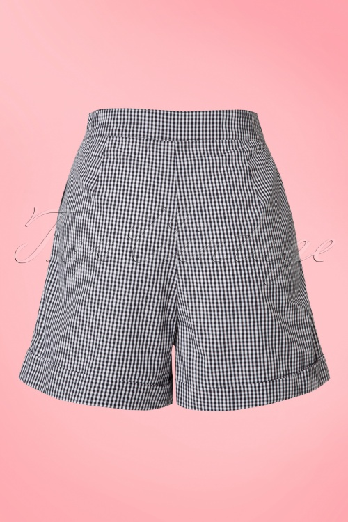 Dancing Days by Banned50s Easy Streets Shorts Gingham