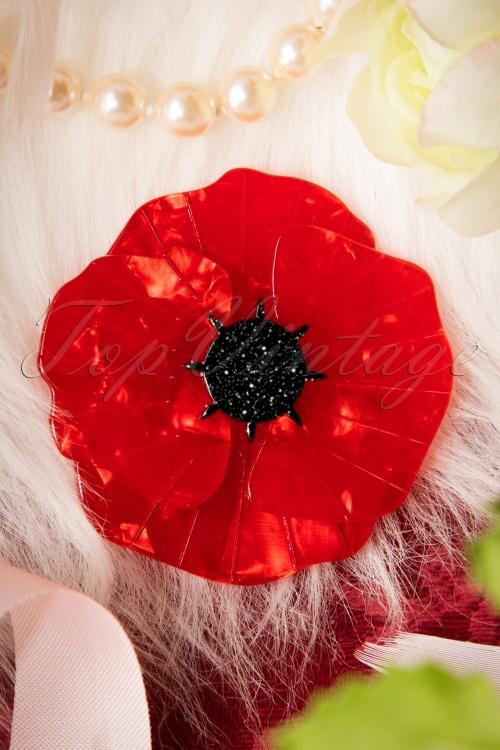 Erstwilder Poppy Field Brooch 340 20 17485 11272015 005cW